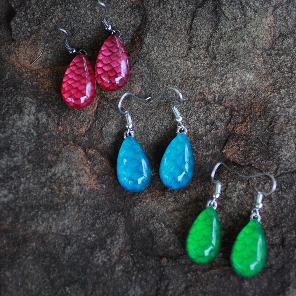 Salmon Earrings | Upcycled, Recycled, Repurposed, Reimagined | Changing Tides