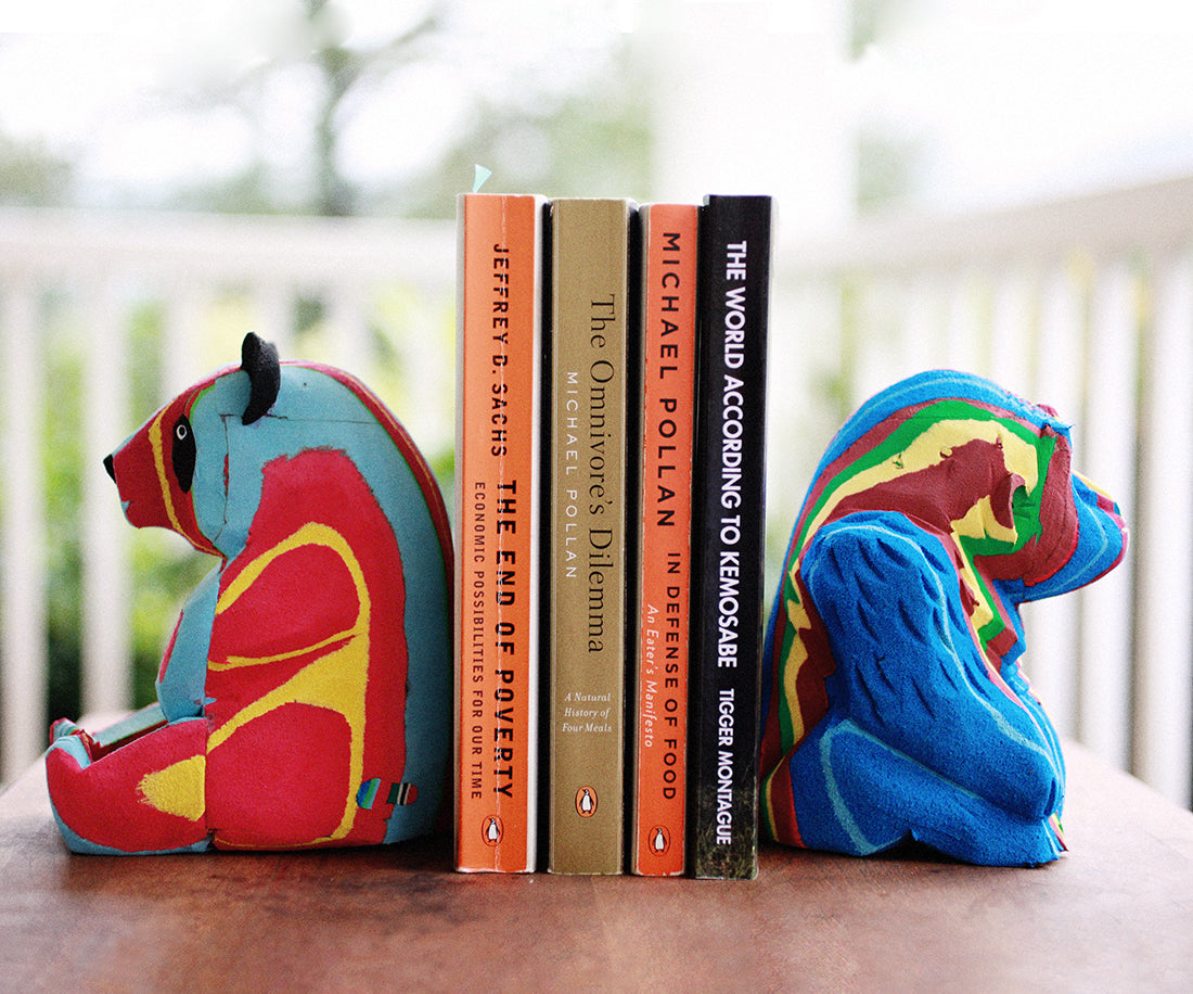 Flip-Flop Bookends