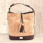 Cork Julia Hobo Bag | Upcycled, Recycled, Repurposed, Reimagined | Seeds for Kindness