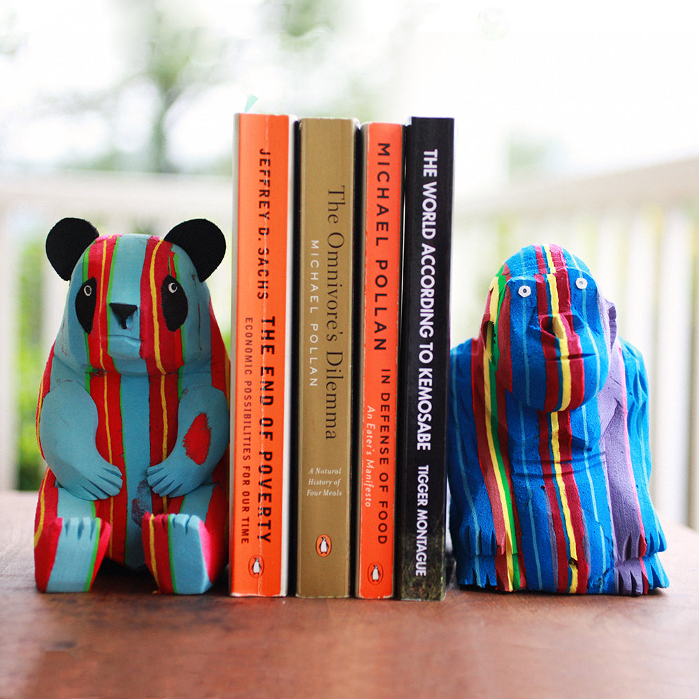 Flip-Flop Bookends | Upcycled, Recycled, Repurposed, Reimagined | Seeds for Kindness