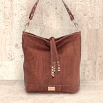 Cork Loretta Hobo Bag | Upcycled, Recycled, Repurposed, Reimagined | Seeds for Kindness