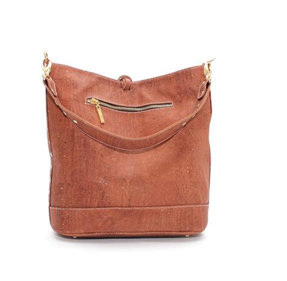 Cork Loretta Hobo Bag | Upcycled, Recycled, Repurposed, Reimagined | Changing Tides