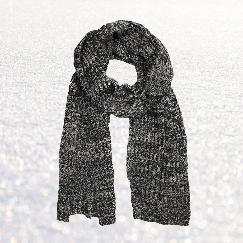 Cashmere Scarf Marble Knit | Changing Tides