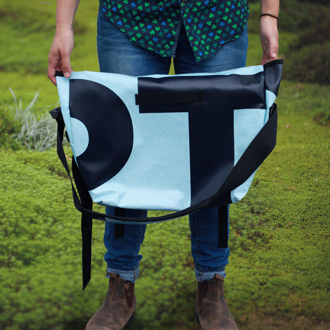 Billboard Messenger Bag | Upcycled, Recycled, Repurposed, Reimagined | Changing Tides
