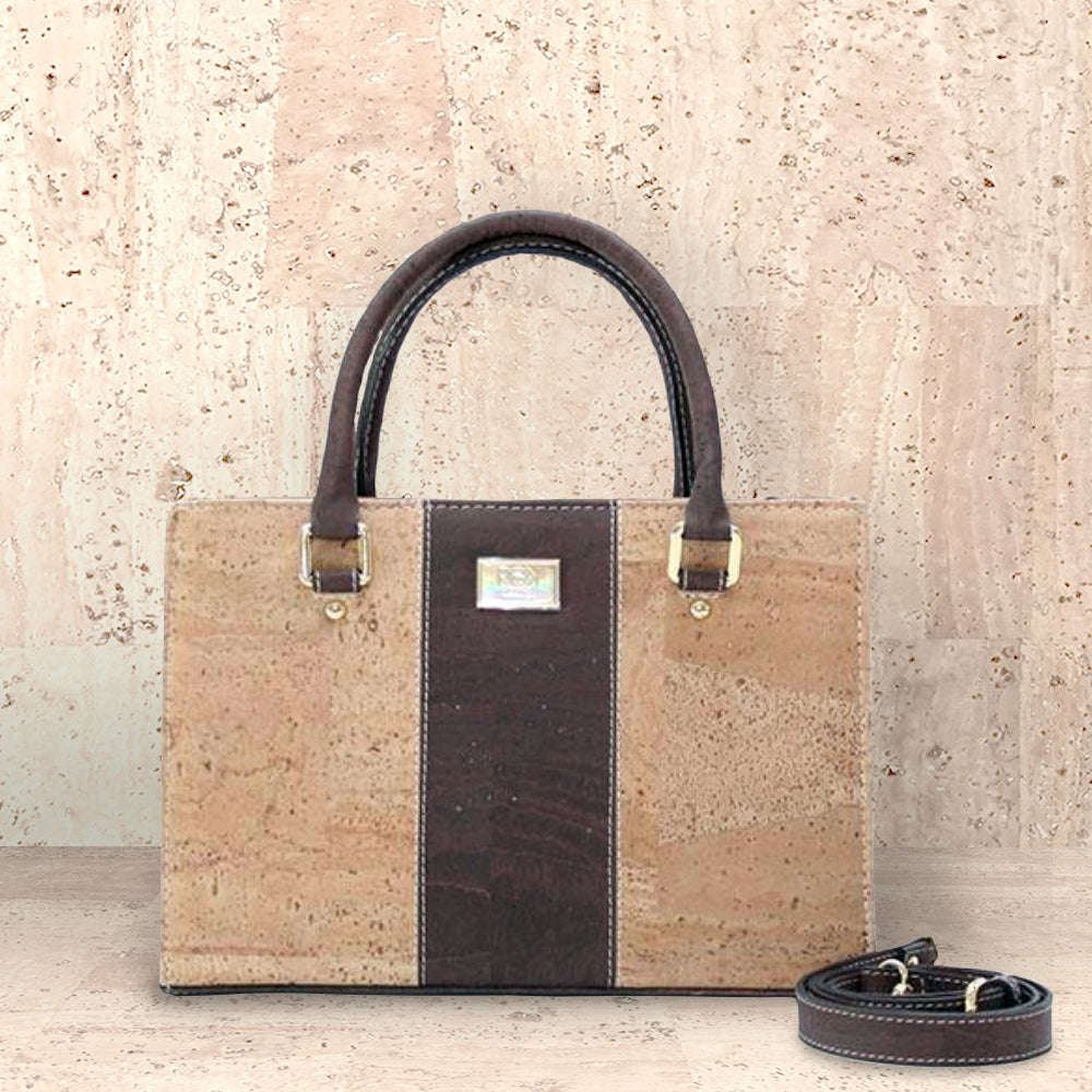 Cork Carolyna Satchel | Seeds for Kindness