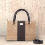 Cork Carolyna Satchel | Upcycled, Recycled, Repurposed, Reimagined | Seeds for Kindness