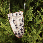 Birch Shield Necklace