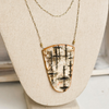 Birch Shield Necklace | Upcycled, Recycled, Repurposed, Reimagined | Changing Tides