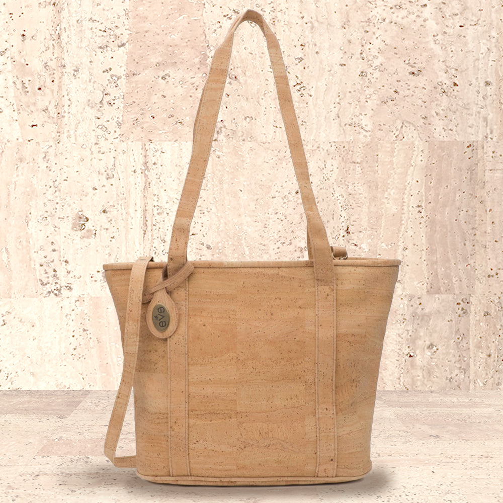 Cork Olivia Tote | Upcycled, Recycled, Repurposed, Reimagined | Changing Tides