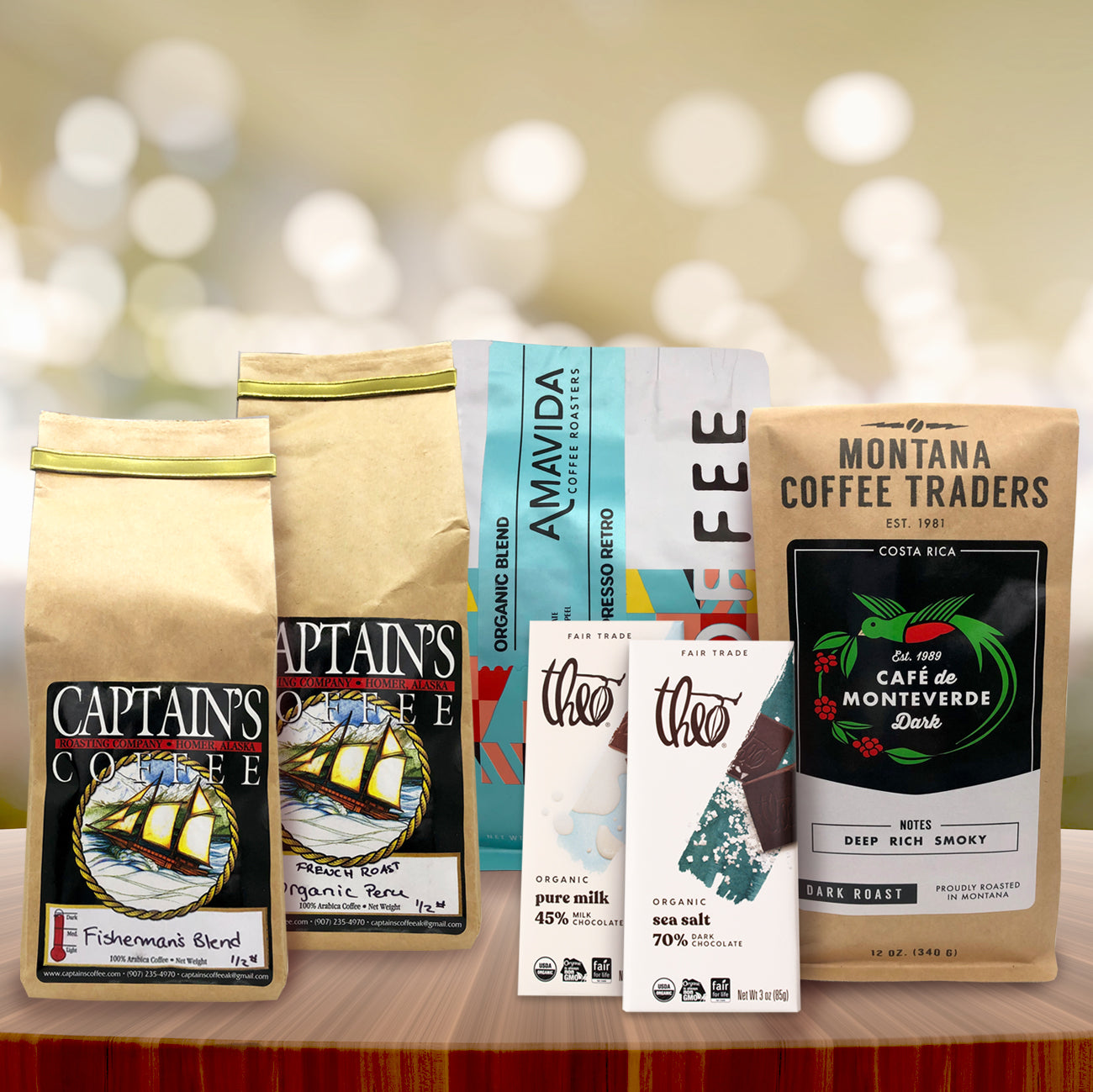 Coffee in the Park Peaks and Oceans Goodie Box | Changing Tides