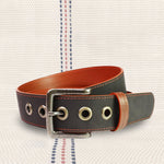 Firehose Print Room Belt | Upcycled, Recycled, Repurposed, Reimagined | Changing Tides