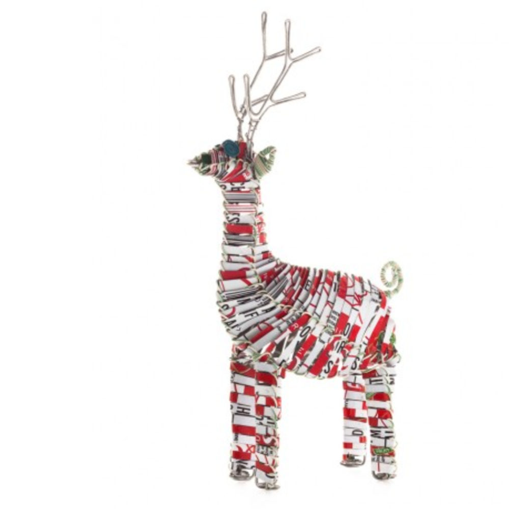 Can Animal Reindeer | Upcycled, Recycled, Repurposed, Reimagined | Changing Tides
