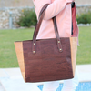 Cork Carminda Tote | Upcycled, Recycled, Repurposed, Reimagined | Changing Tides