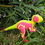Flip-Flop T-Rex | Upcycled, Recycled, Repurposed, Reimagined | Seeds for Kindness