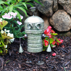 Recycled Garden Aliens - Beep | Upcycled, Recycled, Repurposed, Reimagined | Changing Tides