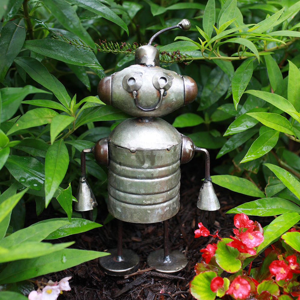 Recycled Garden Aliens - Boop | Upcycled, Recycled, Repurposed, Reimagined | Changing Tides