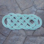Halibut Rug - Aqua Oval | Upcycled, Recycled, Repurposed, Reimagined | Changing Tides