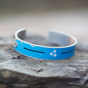 Tri-Star Craft Beer Cuff Bracelet