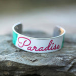 Paradise Craft Beer Cuff Bracelet | Upcycled, Recycled, Repurposed, Reimagined | Changing Tides
