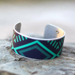 Wakatu Craft Beer Cuff Bracelet | Upcycled, Recycled, Repurposed, Reimagined | Changing Tides