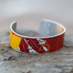 Red Frog Craft Beer Cuff Bracelet