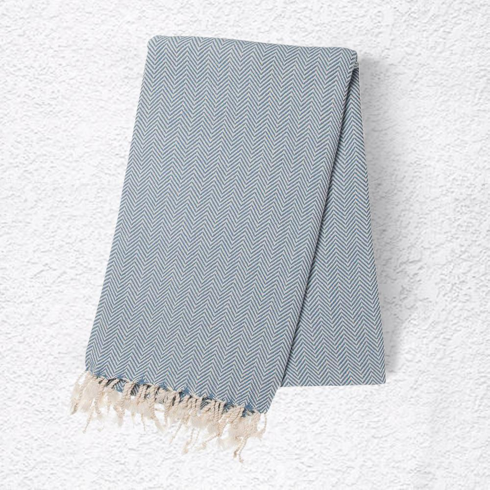 Ocean Blue Turkish Towel | Changing Tides