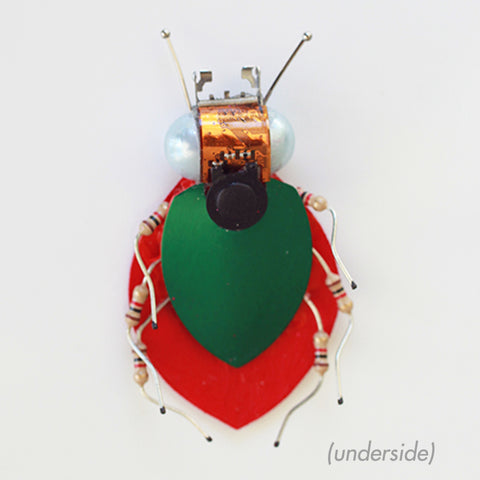 Circuit Board Ladybug | Seeds for Kindness | Upcycled, Repurposed, Reimagined
