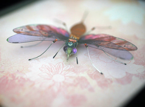 Circuit Board Sewing Stinger Bug | Seeds for Kindness | Upcycled, Repurposed, Reimagined
