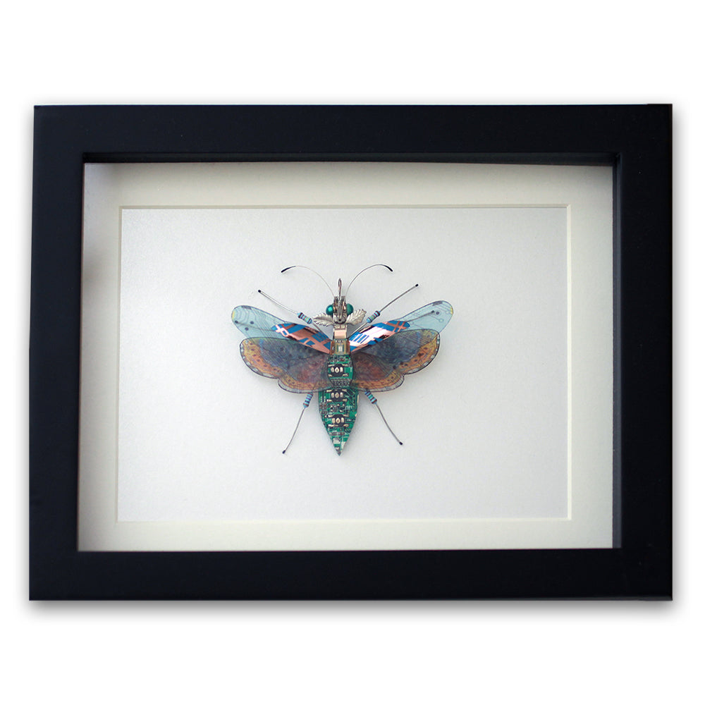 Circuit Board Fantasy Beetle | Upcycled, Recycled, Repurposed, Reimagined | Changing Tides