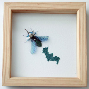 Circuit Board Moth with Eggs | Upcycled, Recycled, Repurposed, Reimagined | Changing Tides