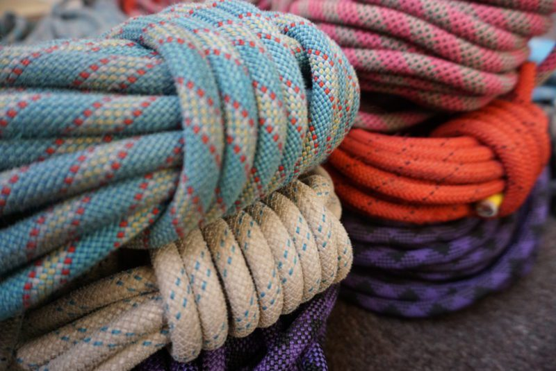 Climbing Rope Belt - Ocean | Changing Tides | Upcycled, Recycled, Repurposed, Reimagined
