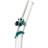Glass Straw with Aqua Dog | Upcycled, Recycled, Repurposed, Reimagined | Changing Tides