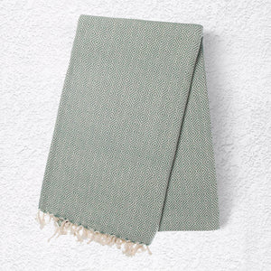 Turkish Towel: Sea Green