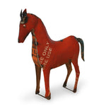 Recycled Garden Horse | Upcycled, Recycled, Repurposed, Reimagined | Changing Tides