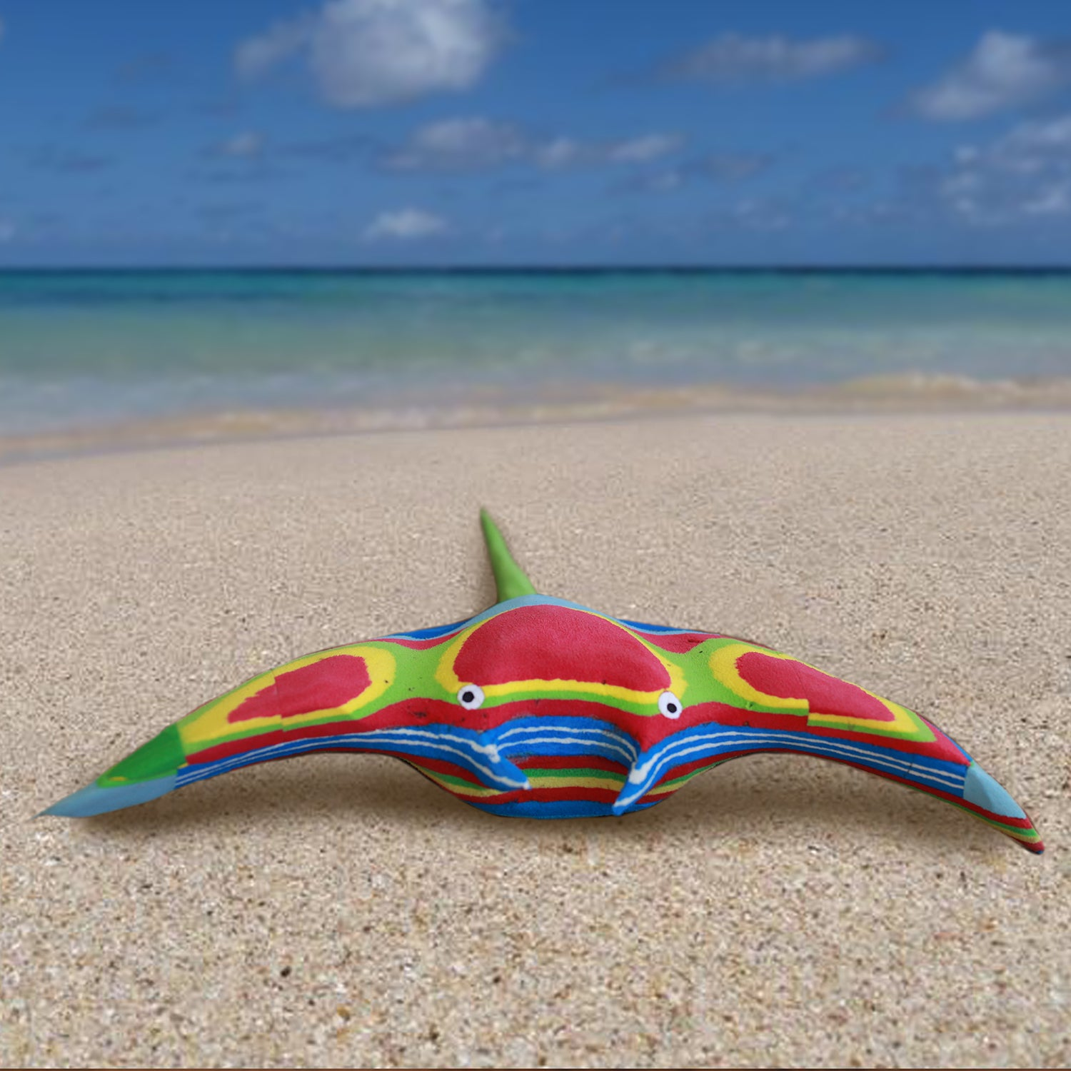 Flip-Flop Manta Ray | Upcycled, Recycled, Repurposed, Reimagined | Changing Tides