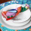 Kantha Napkin Set - Flora | Upcycled, Recycled, Repurposed, Reimagined | Changing Tides