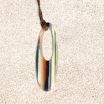 Surfboard Oval Pendant | Seeds for Kindness