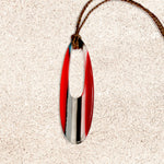 Surfboard Oval Pendant | Upcycled, Recycled, Repurposed, Reimagined | Changing Tides
