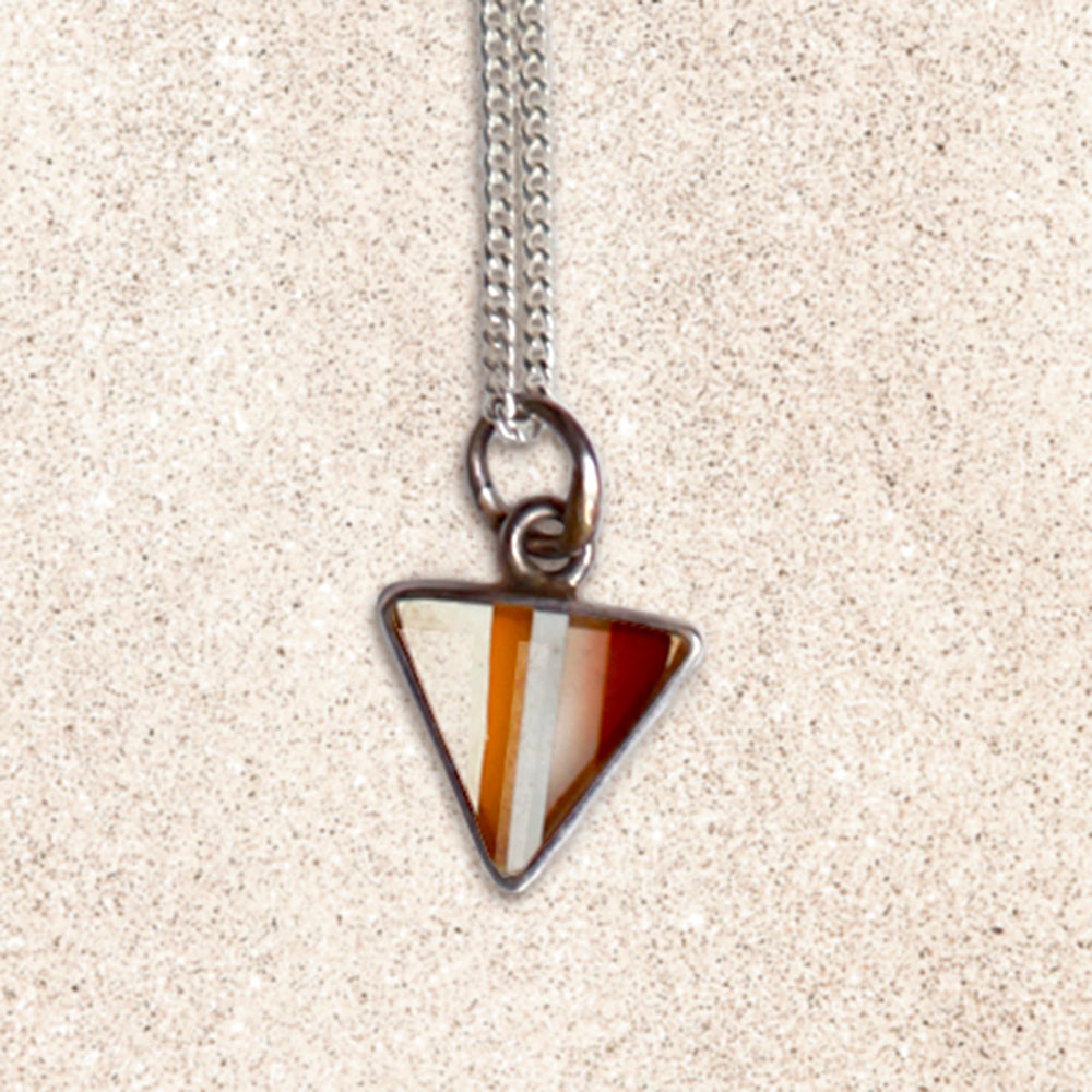 Surfboard Triangle Necklace | Seeds for Kindness