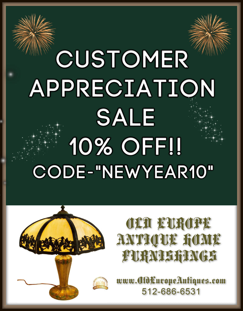 CUSTOMER APPRECIATION SALE-10% off EVERYTHING!!!