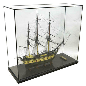 Ship Model, Large Glass Case, 'The Ann & Hope', Awesome Home Decor!!