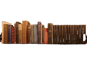 Antique 1800s Fine Book Collection Huge Lot, 30 Books,Wells,Charles Dickens et al!!