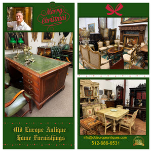Christmas Shopping at Old Europe Antique Home Furnishings!