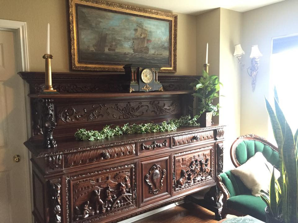 Early 1900s Old Europe Antique Home Furnishings