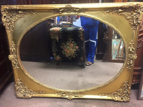Large Antique Style Wall Mirror
