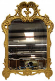 French Louis XV Style Giltwood Wall Mirror 19th century ( 1800s ) - Old Europe Antique Home Furnishings