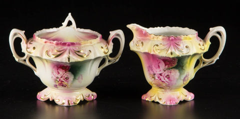 R. S. Prussia Porcelain Tea Articles 19th / 20th century - Old Europe Antique Home Furnishings