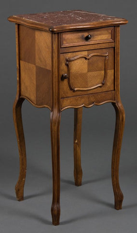 French Provincial Bedside Cabinet