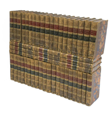 """The Waverley Novels"", Sir Walter Scott (Lot of 48) Books:"