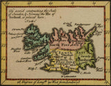 ANTIQUE MAP C. 1765, SWEDEN AND NORWAY, 18TH CENTURY ( 1700S )